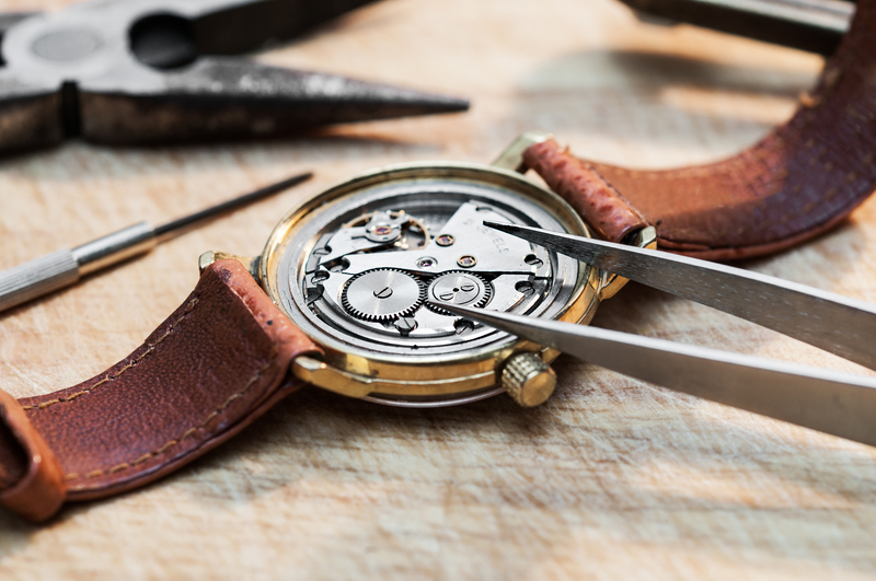 Special tools for repair of watches